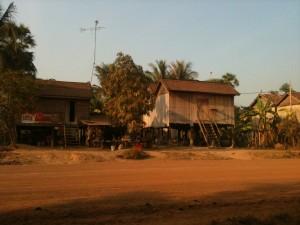 Cambodian homestay village