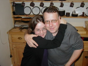 Ellen and Dad in the early 2000s