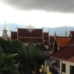 Roof tops of Chiang Mai