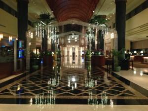 My hotel's grand lobby, Sama Sama, KL