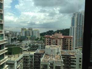View from my Air BnB window, Macau