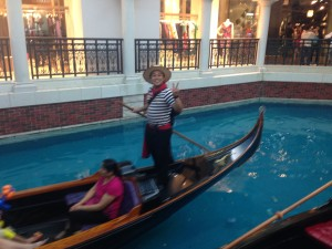 A Gondolier in the Venetian