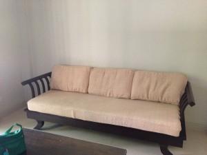A sofa!