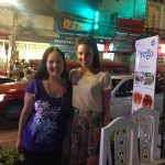 Anna, one of my old team visits Chiang Mai