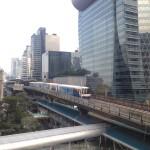 Futuristic Bangkok Sky Train