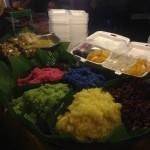 Mango Sticky Rice - same taste, different colours!