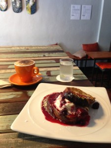 Great French Toast at Overstand