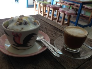 Yoghurt fruit and muesli is so much better in Thailand!