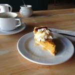 Christmas lunch dessert - pumpkin pie