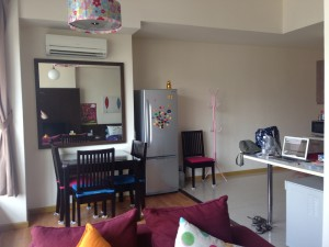 Dining area Malaysia airbnb apartment