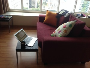 A nice office Malaysia airbnb apartment
