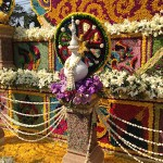Wheel flower float