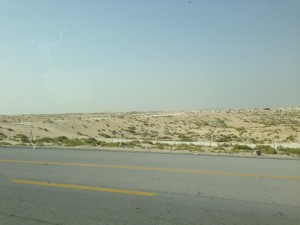 Scenery from the car, Saudi Arabia
