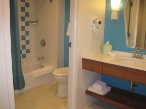 Huge bathroom and dressing area in Cabana Bay bedroom