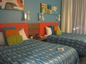 Our bedroom in Cabana Bay