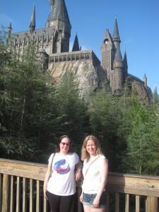 Outside Hogwarts