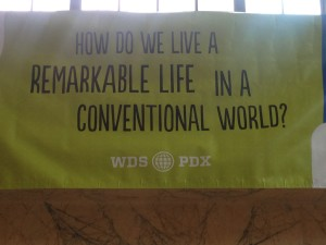 How do we live a remarkable life in a conventional world?