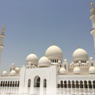 The Grand Mosque, Abu Dhabi, UAE